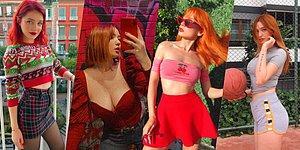 Güzellikleriyle Instagram Türkiye'yi Sallayan 15 Kızıl Kadın