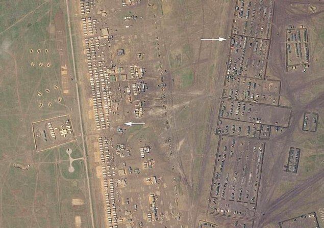 Uydu görüntüleri ortaya çıktı
