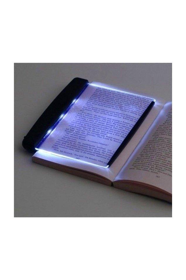 11. Bu okuma ışığının bir zamanlar sadece Beytepe bakkalında olduğuna yemin edebilirim.