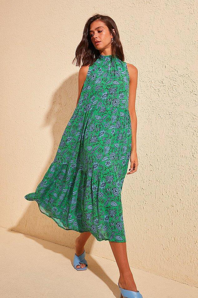 4. Yeşil rengini kıyafetlerde kullanmaya çok alışkın değiliz.