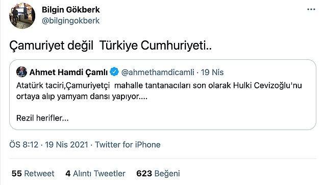 Spor yorumcusu Bilgin Gökberk ise bu skandal ifadeye tepki gösterdi.