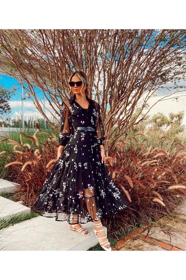 2. Bu elbisenin içinde kendinizi bir prenses gibi hissedin.