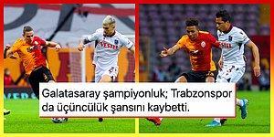 Dev Maçta Kazanan Yok! Galatasaray Son Dakikada Attığı Golle Trabzonspor Karşısında 1 Puanı Kurtardı