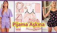 Üzerinizden Çıkarmak İstemeyeceğiniz Birbirinden Tatlı Yazlık Pijama Takımları