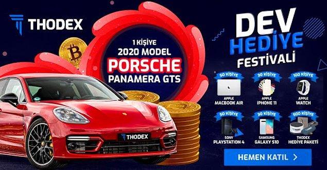 Yatırımcı çekmek için Porsche çekilişi yapmışlardı