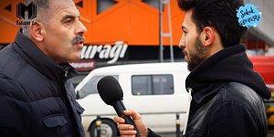 'Demokrasi mi? Şeriat mı?' Sorusu Soran Muhabire Vatandaştan Sert Tepki: 'Demokrasi ile Şeriat Kıyas Değildir'
