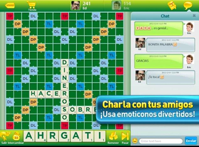 13. Scrabble for iPad - 94 Puan