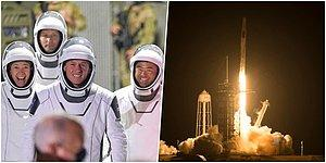 Roket Fırlatıldı! Dört Astronot Son Bir Yılda Üçüncü Kez Uzay Seferine Çıktı