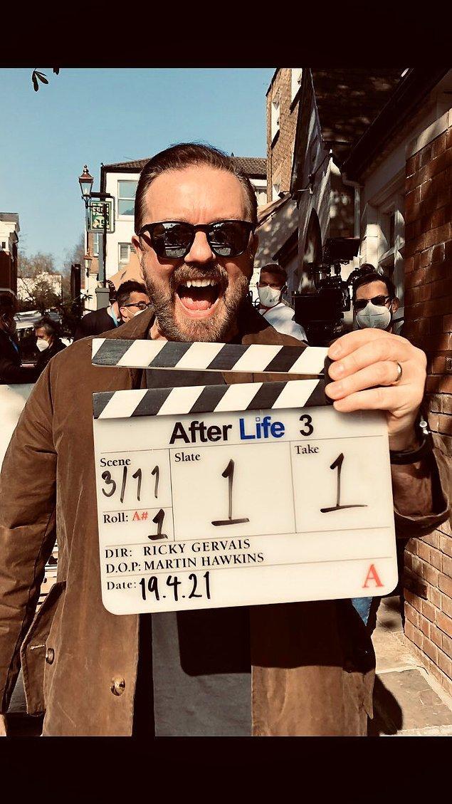 4. After Life'ın 3. sezon çekimleri başladı.