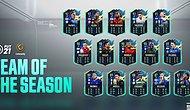 FIFA Topluluğu Tarafından Seçilen Futbolcular, Team of The Season (TOTS) Olarak FIFA 21'ye Eklendi!
