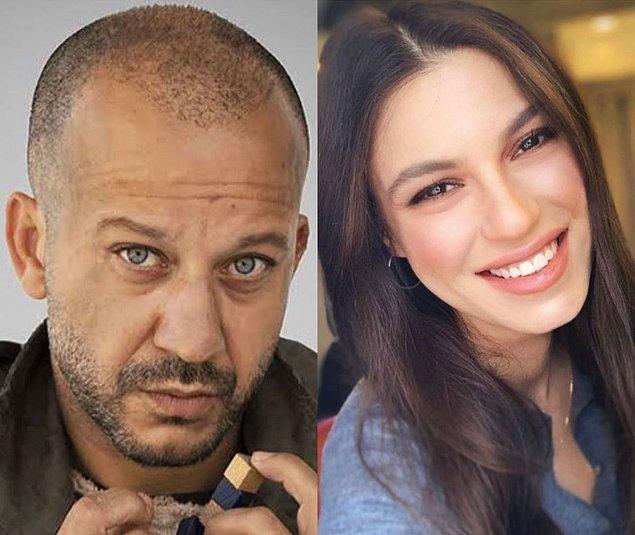 3. Rıza Kocaoğlu ile Arka Sokaklar dizisinden Yüsra Geyik'in yeni bir aşka yelken açtığı iddia edildi.