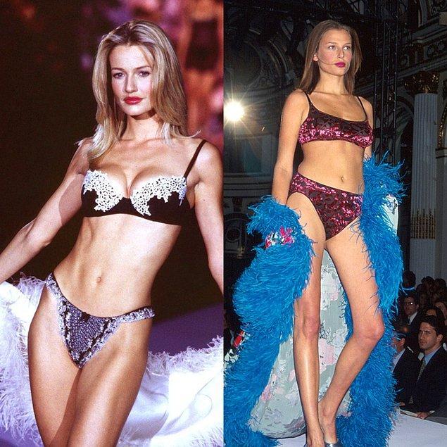 4. 1998 - Karen Mulder ve Bridget Hall