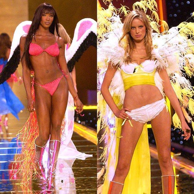 8. 2002 - Naomi Campbell  ve Karolina Kurkova