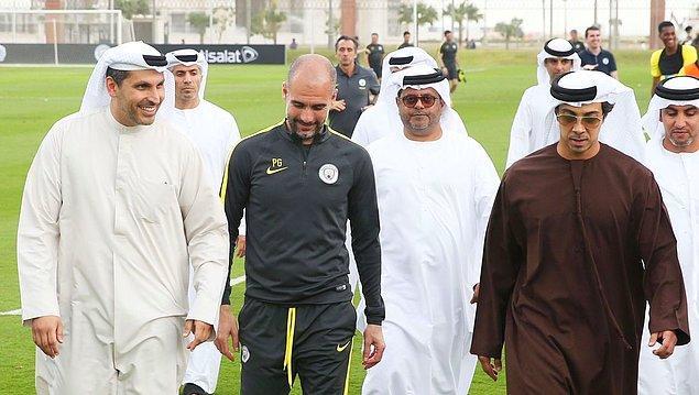 4. Mansur bin Zaid el-Nehyan, Abu Dabi Cumhurbaşkanı Halife bin Zaid el-Nehyan'ın kardeşi ve Manchester City'nin sahibidir.