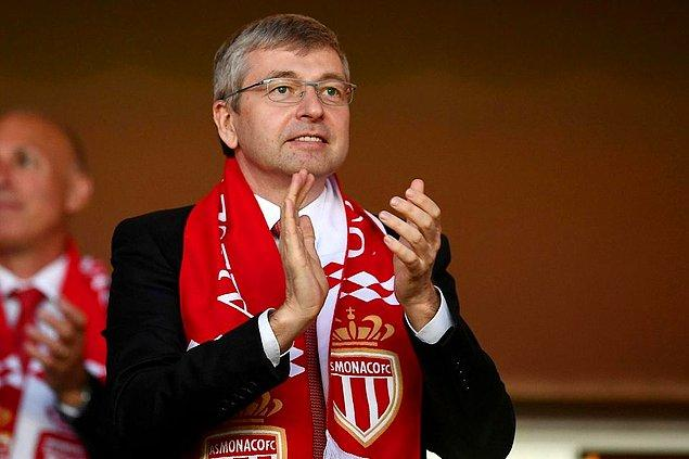 13. Rus iş adamı Dmitry Rybolovlev, Monaco'nun sahibi. Net serveti 6,7 milyar dolar.