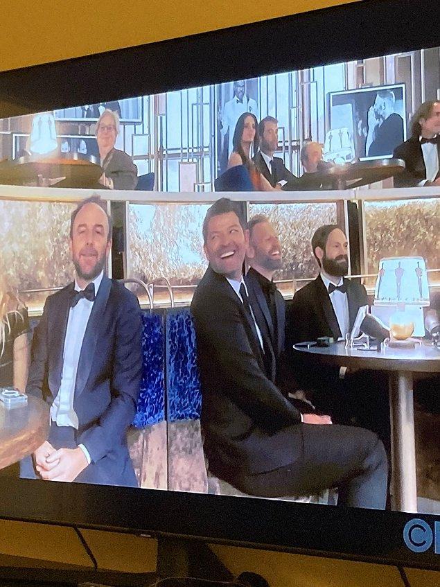 """9. İnsanlar """"Misha Collins neden Oscar'da?"""" gibi bir tepki içerisindeydi."""