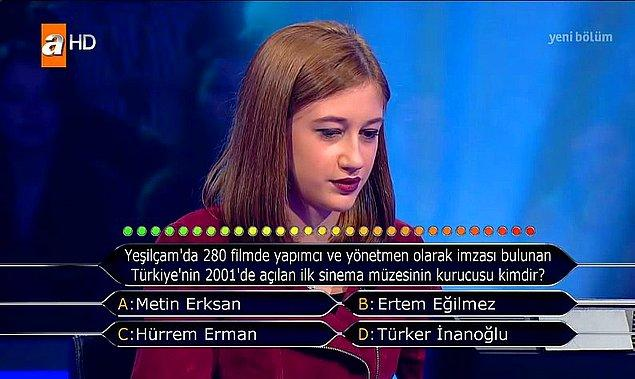 12. Yeşilçam'da 280 filmde yapımcı ve yönetmen olarak olarak imzası bulunan Türkiye'nin 2001'de açılan ilk sinema müzesinin kurucusu kimdir?
