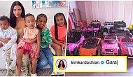 Kim Kardashian'ın Çocukları İçin Aldığı Araba Koleksiyonunu Görünce Bir Miktar Canınız Sıkılacak!