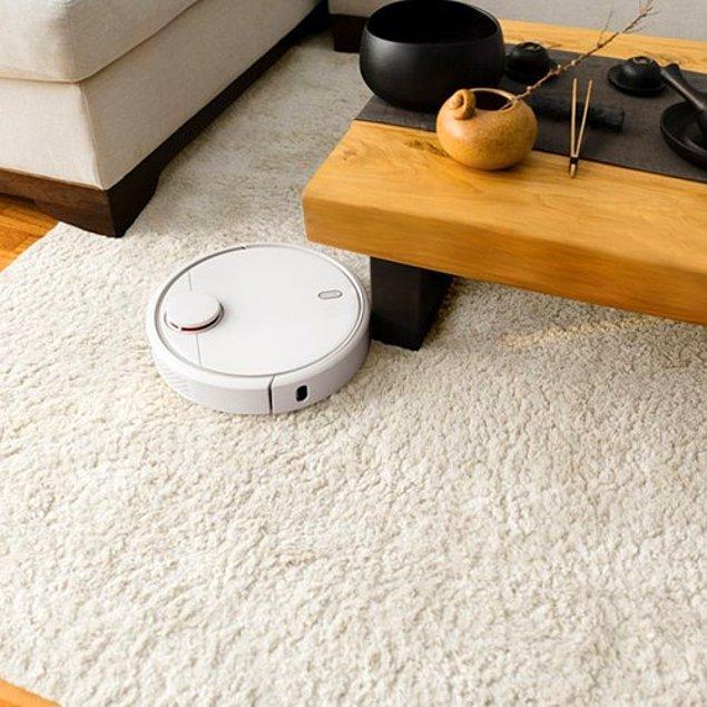 2. Xiaomi Mi Robot Vacuum Mop Pro Beyaz Akıllı Robot Süpürge