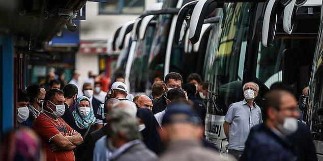Tam kapanma kararı öncesinde alınan otobüs biletleri için izin almak gerekli midir?