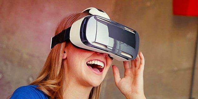 9. Sanal gerçeklik gözlüğü harika bir seçenek...