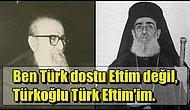 Atatürk'ün Kendisine 'Baba Eftim' Diye Hitap Ettiği Milli Mücadele Yanlısı Türk Ortodoks Papaz: Papa Eftim