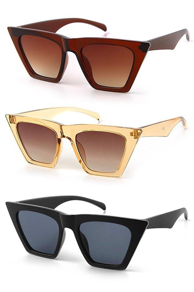 11. İstersen çok uygun fiyata üç farklı güneş gözlüğü alabilirsin...