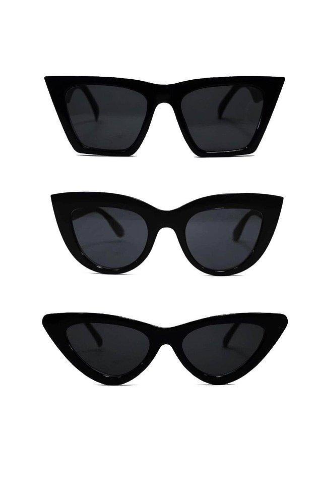 12. Üç farklı gözlüğe sahip olabileceğin bir başka alternatif...