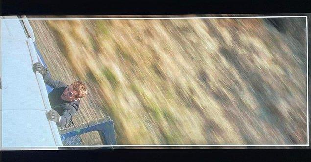 18. Mission Impossible serisinin devam filmi Mission Impossible 7'den Tom Cruse'lu yeni bir görsel paylaşıldı.