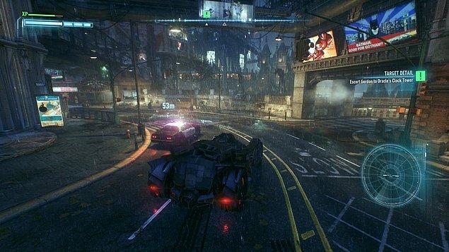 Batmobile - Batman Oyunları