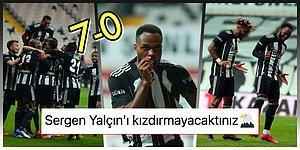 Beşiktaş Şampi! Hatayspor'u Gole Boğan Kara Kartallar Şampiyonluk Kupasının Bir Ucundan Tuttu