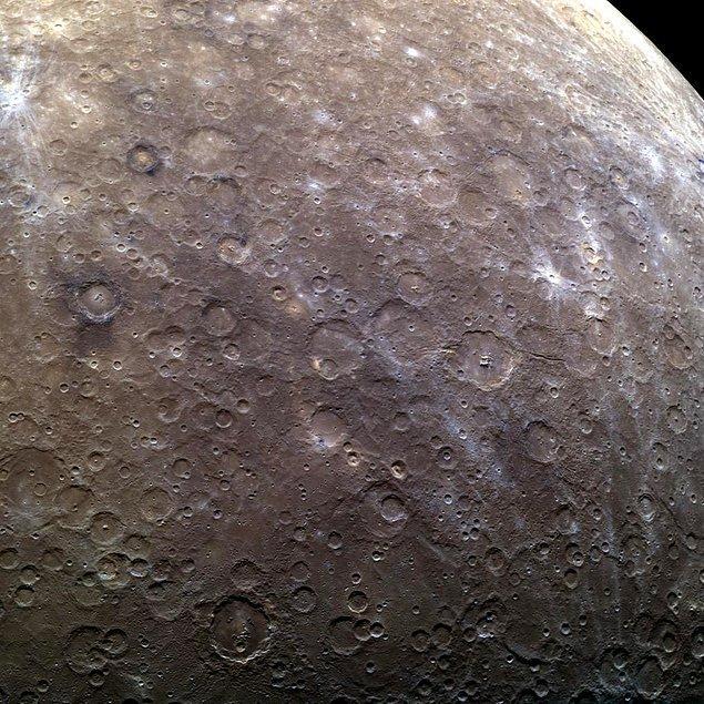 Merkür (Ay boyunca Başak takımyıldızında)