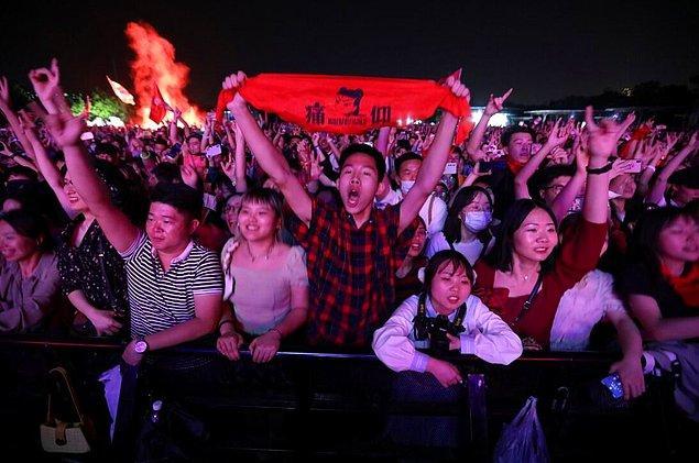 Festival, kısıtlamalar nedeniyle geçen yıl çevrimiçi gerçekleştikten sonra ilk kez seyircilerini karşıladı.
