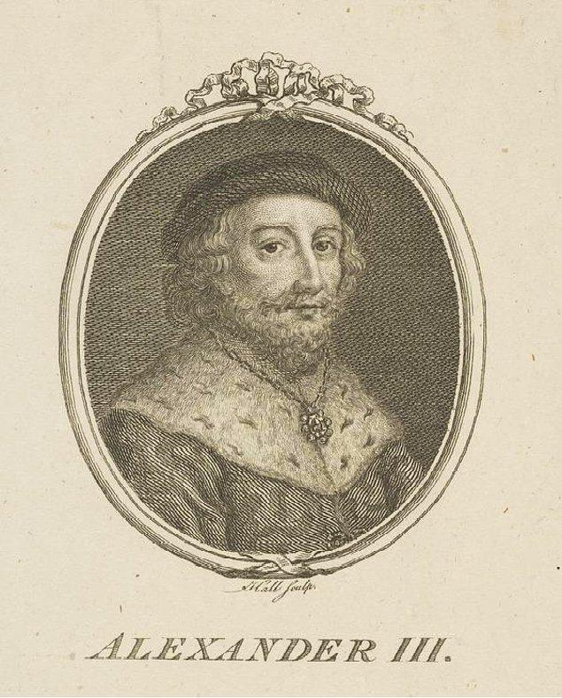 İskoçya kralının ölümüyle birlikte gelen varis sorunu