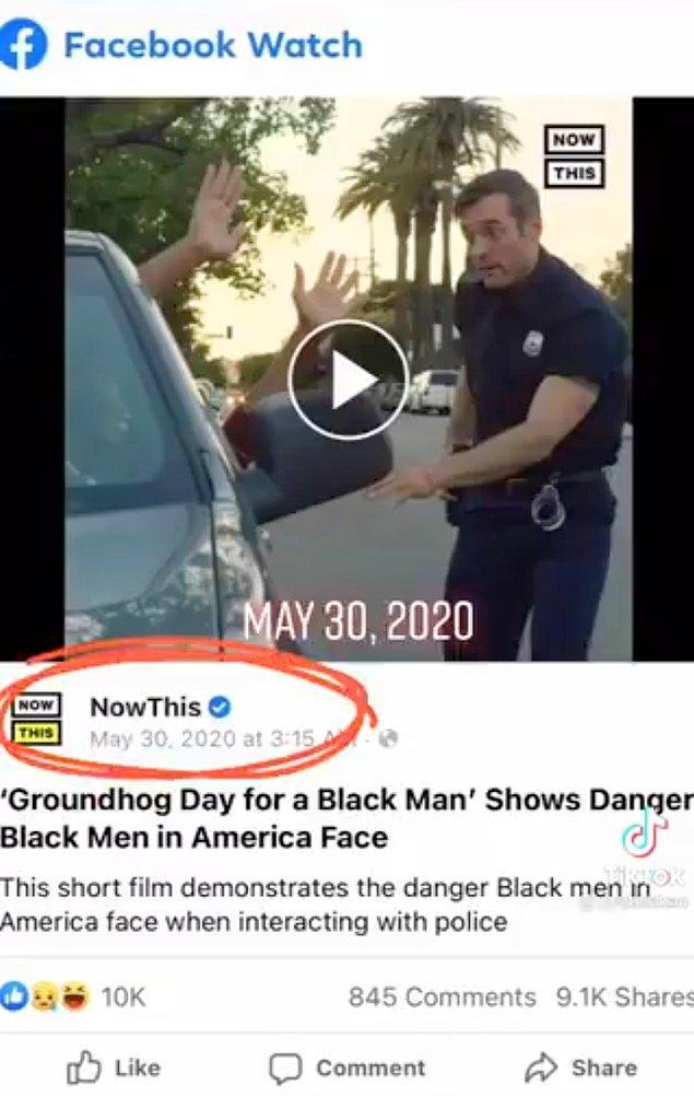 Ardından kısa filmi 30 Mayıs 2020 tarihinde Facebook hesaplarından,
