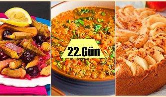 Ramazan'ın 22. Günü İçin Hazırlayabileceğiniz İki Farklı İftar Menüsü Önerisi