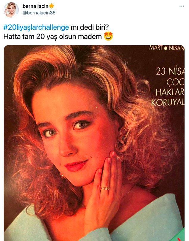 1. Twitter'da #20liyaşlarchallenge başlatıldı!