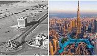 Arap Dünyasının Sakin Bir Bölgesi Olan Dubai'nin Sadece 50 Yılda Yaşadığı Büyük Değişim