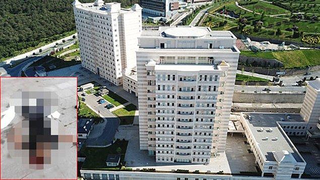 Perde ve çarşaflara tutunarak 12'inci kattaki odasının penceresinden aşağı sarkan Muhtar, 6'ıncı kata kadar indi.