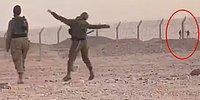 Sınır Hattında Karşılıklı Olarak Dans Eden Mısır ve İsrail Askerleri