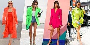 Biraz da Moda Konuşalım! Stil Denilince Aklımıza Gelen Ünlülerin Aşırı Renkli Tarzları