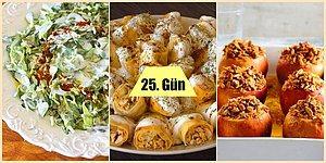 Ramazan'ın 25. Günü İçin Hazırlayabileceğiniz İki Farklı İftar Menüsü Önerisi