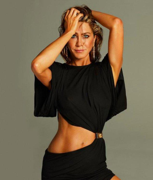 5. Jennifer Aniston - Bel