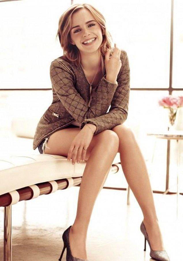1. Emma Watson - Ayak bilekleri
