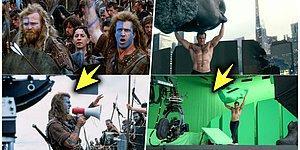 Severek İzlediğimiz Filmlerin Nasıl Çekildiğini Görünce Bakış Açınızı Değiştirecek 18 Kamera Arkası Fotoğrafı