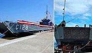 Kıbrıs Harekatı'nda Kullanılan Tarihi Gemideki '128' İbaresi Silindi