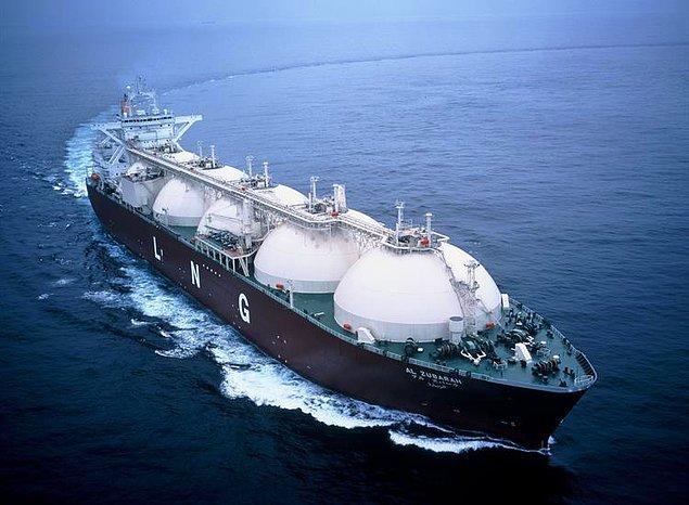 2. Doğal gazı sıvılaştırarak dünyanın her yerine taşımayı bulmuşlardır.