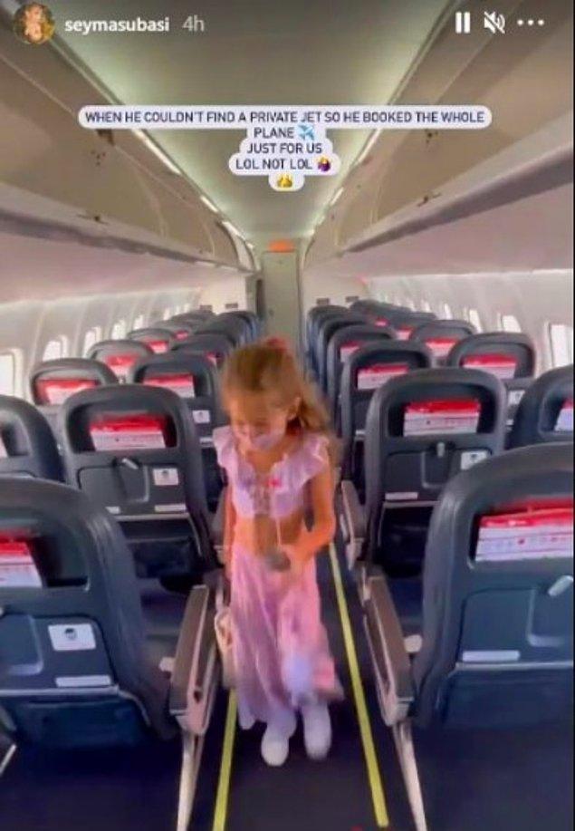 15. Özel uçak bulamayıp yolcu uçağı kapattıran sevgilisi onun bu dertlerden uzak kalmasını sağlıyor.