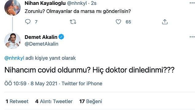 Akalın'ın bu paylaşımından sonra aşı zorunlu mu olmalı tartışması döndü ama ünlü şarkıcı bilimle yanıt verdi.