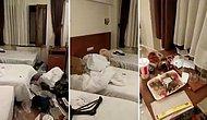 Konakladıkları Odayı Berbat Bir Halde Bırakan Etiyopyalı Turistlere İsyan Eden Otel Yetkilisi
